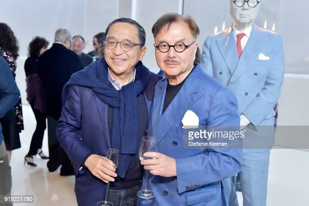 Silas Chou and Michael Chow attend Mr Chow 50 Years on February 16 2018 in Vernon California