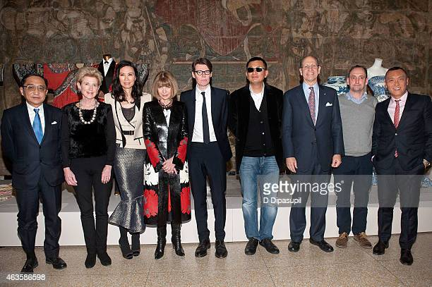 Silas Chou Metropolitan Museum of Art president Emily K Rafferty Wendi Murdoch Anna Wintour The Costume Institute at the Metropolitan Museum of Art...