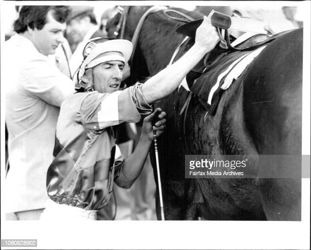 Silastic Auto Stakes Jockey L Masters August 3 1985