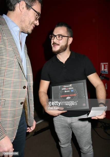 'Silence is Deadly' by director Brice Veneziano Mobile festival Public Award attends the 'Mobile Film Festival Stand Up 4 Human Rights Awards'...