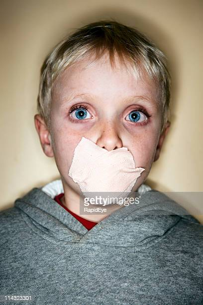 Silence of abused child
