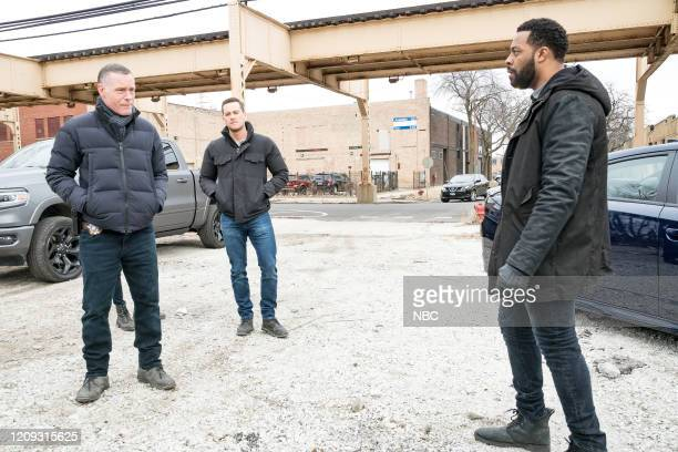 PD Silence Of The Night Episode 719 Pictured Jason Beghe as Hank Voight Jesse Lee Soffer as Jay Halstead LaRoyce Hawkins as Kevin Atwater