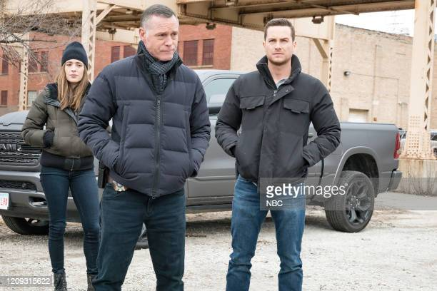PD Silence Of The Night Episode 719 Pictured Marina Squerciati as Kim Burgess Jason Beghe as Hank Voight Jesse Lee Soffer as Jay Halstead