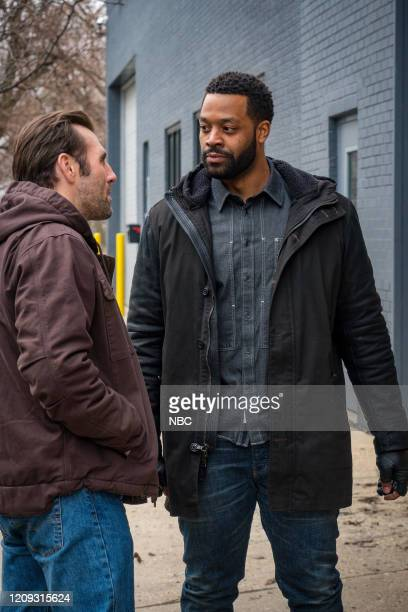 PD Silence Of The Night Episode 719 Pictured Michael OSullivan as Thomas Doyle LaRoyce Hawkins as Kevin Atwater
