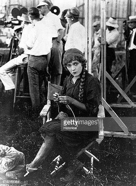 Silent film star Mary Pickford won an Academy Award for her performance in Coquette in 1929 She was cofounder in 1920 of United Artists Films with DW...