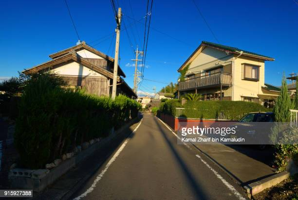 Silent Japanese residential district