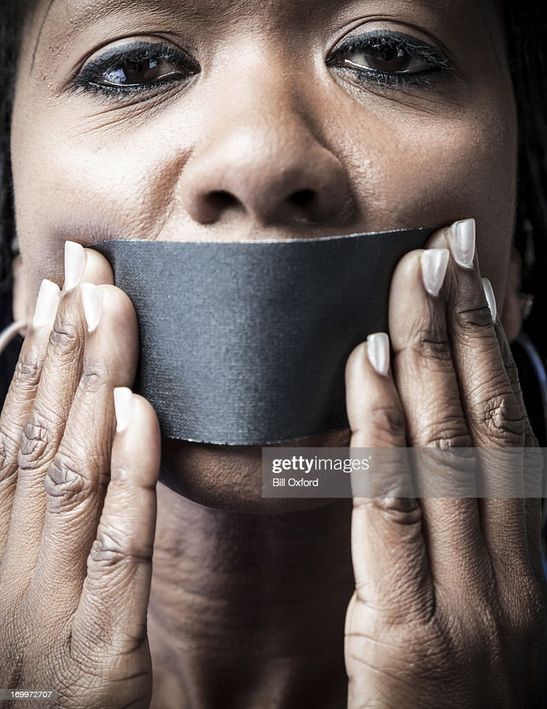 Silent Minority : Stock Photo