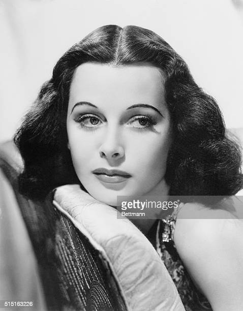 """""""Silent Sex Appeal."""" Hedy Lamarr, movie star, nominated by Toni Frissell, fashion photographer, """"because she has put the too-long preeminent blonde..."""