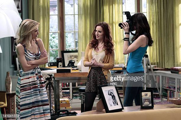 WHITNEY Silent Treatment Episode 103 Pictured Rhea Seehorn as Roxanne Zoe ListerJones as Lily Whitney Cummings as Whitney Photo by Chris...