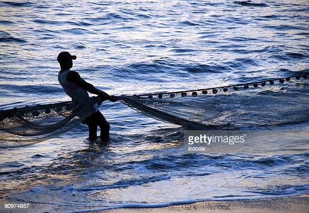 漁師純引き出し - シエラレオネ ストックフォトと画像