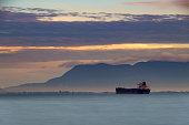 silhouette ship penang malaysia