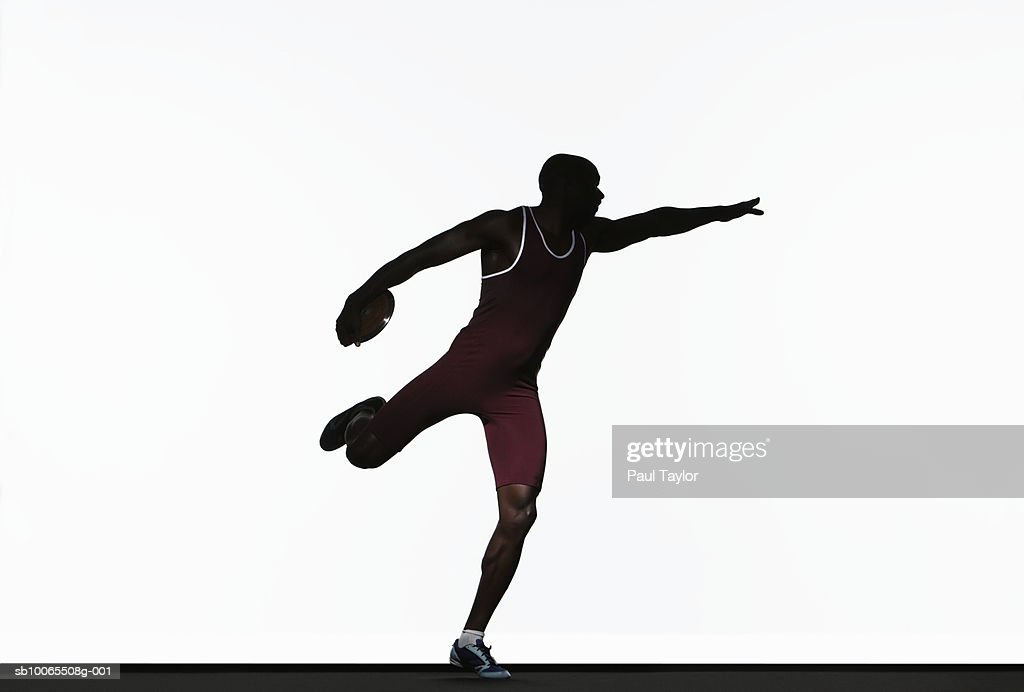 Discus Throw Stock Images, Royalty-Free Images & Vectors ... |Discus Thrower Silhouette