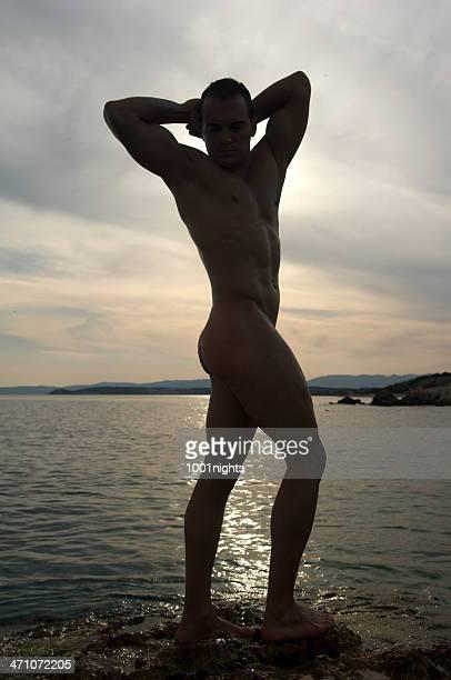 silhouette d'un homme