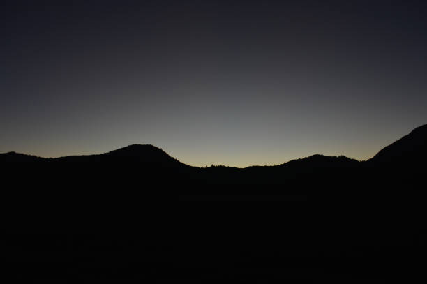 Silhouette Of The Hill