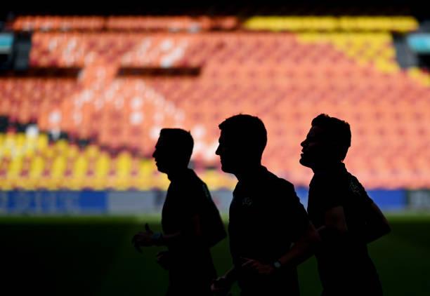 NLD: Ukraine Training Session and Press Conference - UEFA Euro 2020: Group C