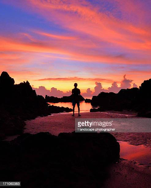 silhouette - terengganu stock pictures, royalty-free photos & images