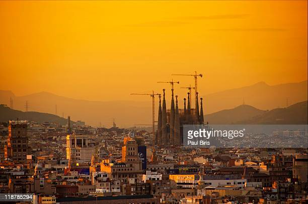 Silhouettes in Barcelona