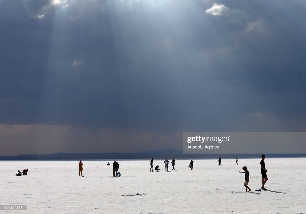 Turkey's Otherworldly Salt Flats