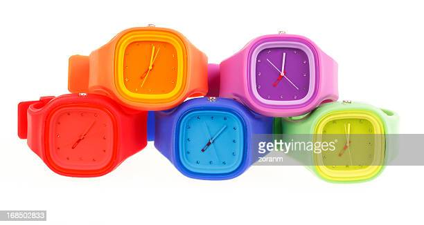 Gel de silicona, relojes