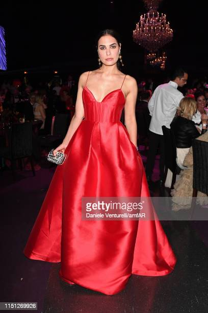 Silja Litvin attends the amfAR Cannes Gala 2019 at Hotel du CapEdenRoc on May 23 2019 in Cap d'Antibes France