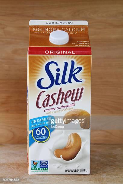 seda cashewmilk - milk carton - fotografias e filmes do acervo