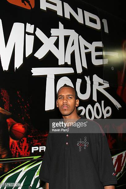 Silk during And1 Mixtape Tour Volume 9 Premiere After Party at White Orchid in Hollywood California United States