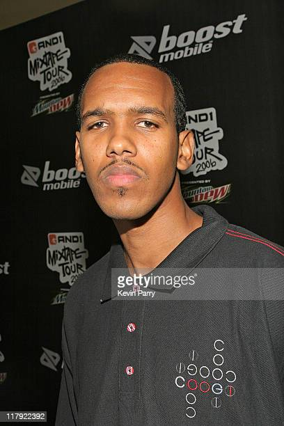 Silk during And1 Mixtape Tour Volume 9 Premiere at Mann's Chinese Six in Hollywood California United States
