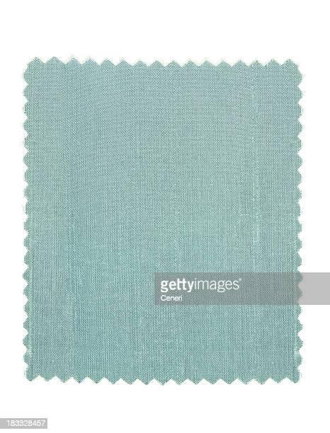 Échantillon de tissu de soie bleu clair