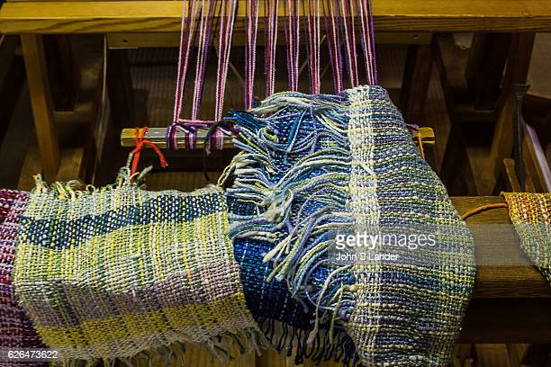 Silk Loom Yuki tsumugi is silk using techniques that have been in use since the 8th century All the work is done by hand including spinning and...
