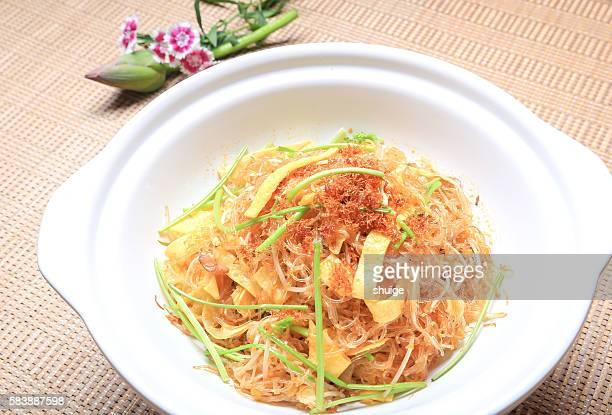 Silk noodles,Jiangnan cuisine. In wuxi city, jiangsu province, China