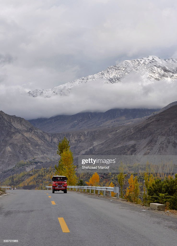 Silk Road KKH : Foto stock