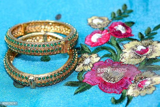 silk saree - bangle stock pictures, royalty-free photos & images