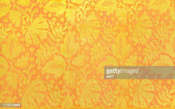 silk sari - indian wedding stock pictures, royalty-free photos & images