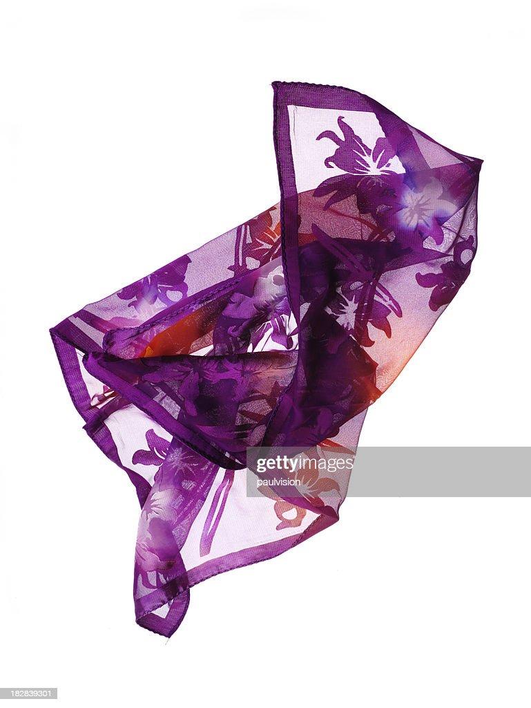 Sciarpa in seta : Foto stock