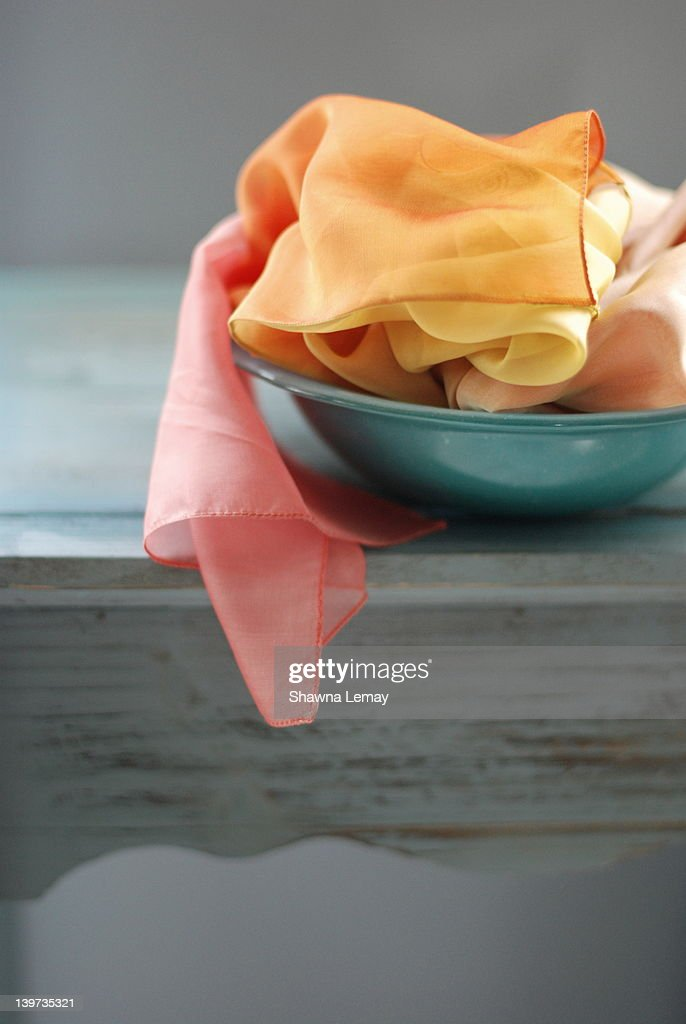 Silk scarves : Stock Photo