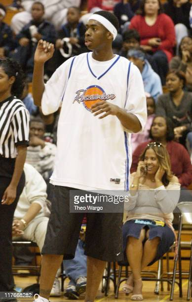 Silk The Shocker during Super Bowl XXXVI - Jam Sports All Star Celebrity Basketball Game Hosted by Jermaine Dupri at University of New Orleans Human...