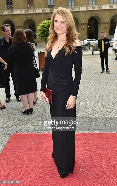 Silke Popp attend the Bernhard Wicki Award during the Munich Film Festival 2016 at Cuvilles Theatre on June 30 2016 in Munich Germany