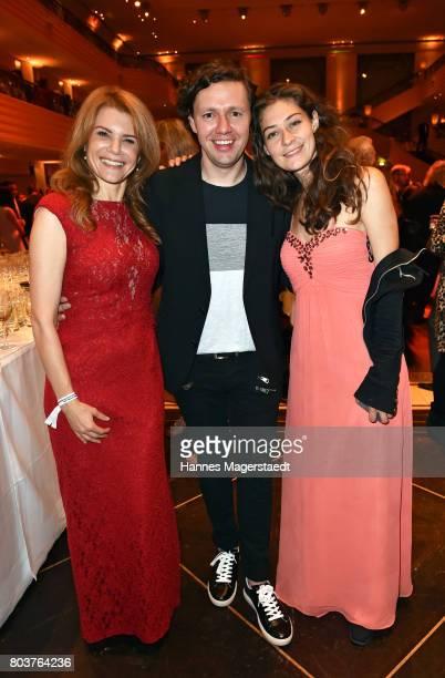 Silke Popp Christian Friedel and Jarah Maria Anders attend the Bernhard Wicki Award 2017 during the Munich Film Festival 2017 at Bayerischer Hof on...