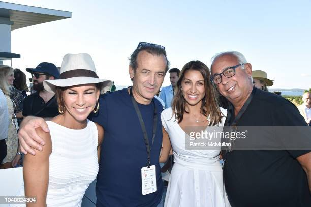 Silke Tsitiridis, Savas Tsitiridis, Shamin Abas and Jeff Friedman attend The Bridge 2018 at The Bridge on September 15, 2018 in Bridgehampton, NY.