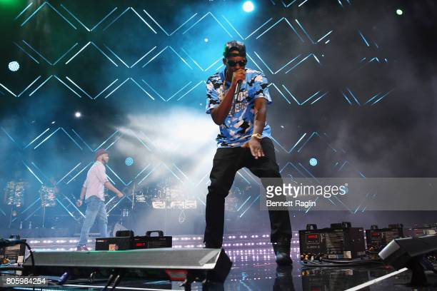 Silkk The Shocker performs onstage at the 2017 ESSENCE Festival Presented By Coca Cola at the Mercedes-Benz Superdome on July 2, 2017 in New Orleans,...