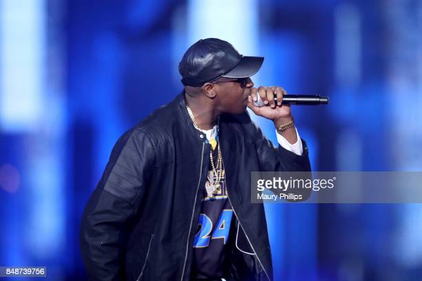 Silkk the Shocker performs onstage during VH1 Hip Hop Honors: The 90s Game Changers at Paramount Studios on September 17, 2017 in Los Angeles,...