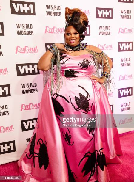 Silky Nutmeg Ganache attends the RuPaul's Drag Race Season 11 Finale Taping at Orpheum Theatre on May 13 2019 in Los Angeles California
