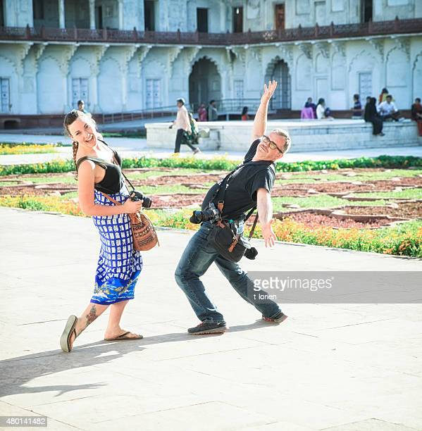 Silly Tourists in India