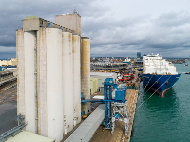 GBR: Agriculture Imports & Exports At Port Of Southampton