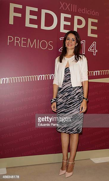 Silva Jato attends FEDEPE Awards 2014 at The CSIC on September 29 2014 in Madrid Spain