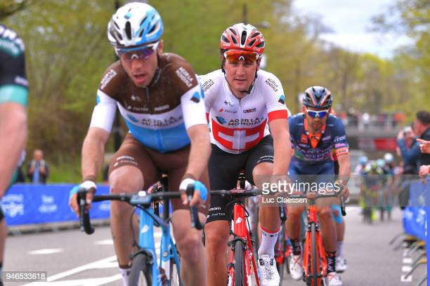 Silvan Dillier of Switzerland and Team AG2R La Mondiale / during the 53rd Amstel Gold Race 2018 a 263km race from Maastricht to Berg en Terblijt on...