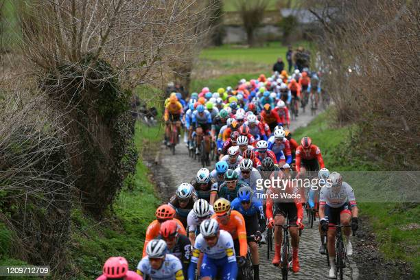 Silvan Dillier of Switzerland and Team AG2R la Mondiale / Lawrence Naesen of Belgium and Team AG2R la Mondiale / Bert Van Lerberghe of Belgium and...
