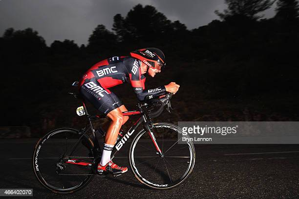 Silvan Dillier of Switzerland and the BMC Racing Team in action on stage seven of the 2015 ParisNice from Nice to Col d'Eze on March 15 2015 in Nice...