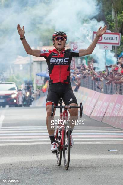 Silvan Dillier wins the sixth stage of the Giro d'Italia Tour of Italy cycling race from Reggio Calabria to Terme Luigiane
