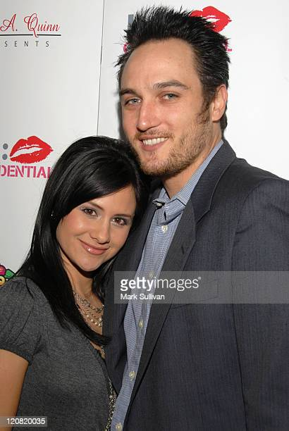 Silvana Arias and Alex A Quinn during Alex A Quinn Hosts 'LA Confidential' Hollywood Mixer January 26 2006 at RokBar in Hollywood California United...